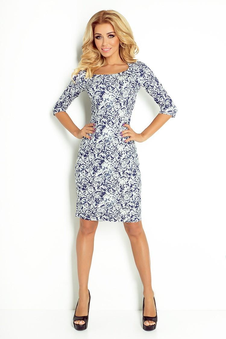 a2bae3584d21 Dámske šaty s rukávom 2809 - Spoločenské šaty Online