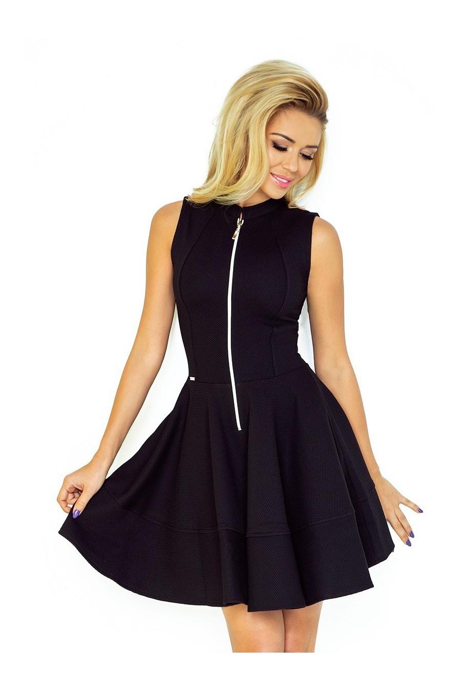 d71be7079dbc Dámske šaty na zips 2888 - Spoločenské šaty Online