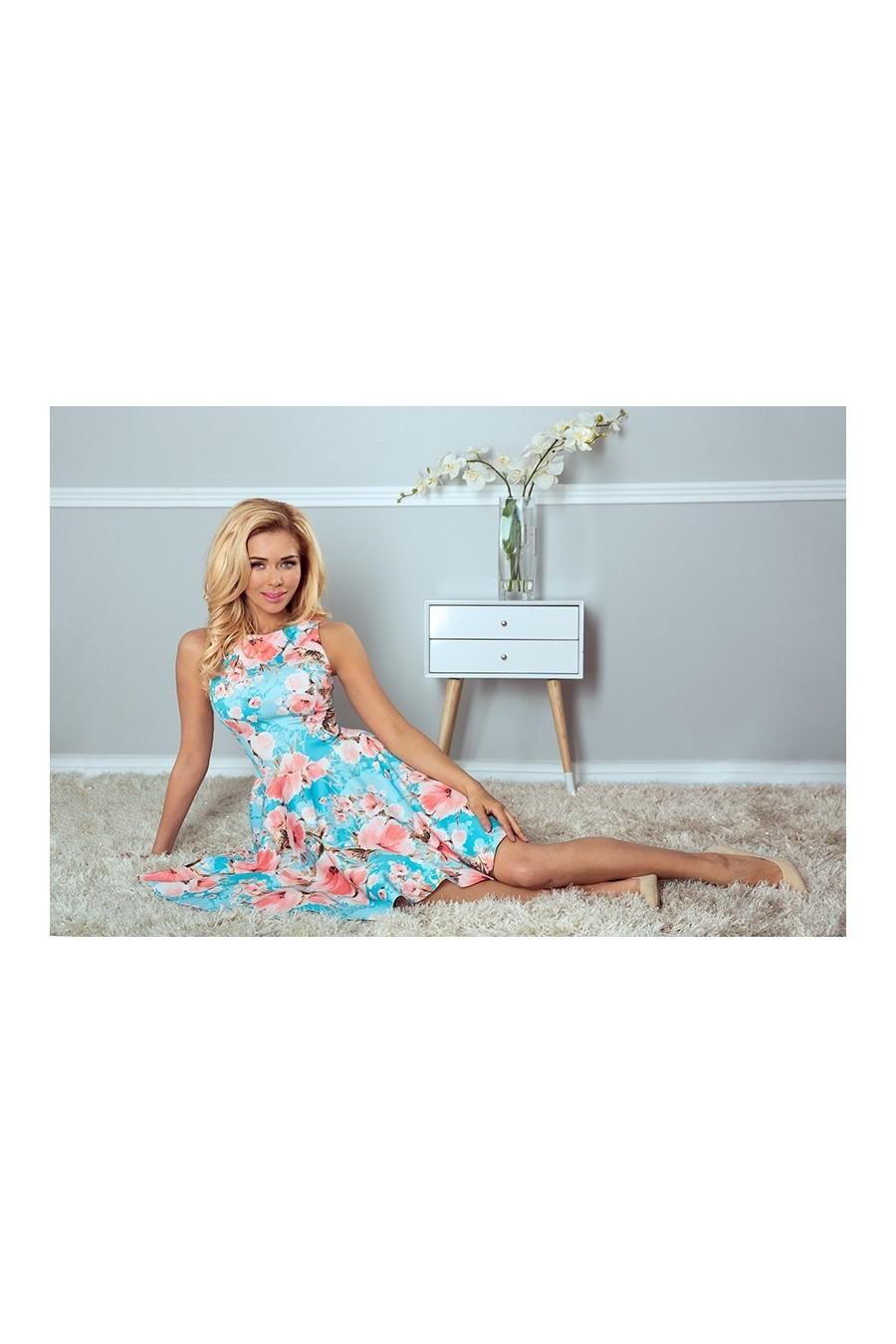 9aa64375f3 Dámske kvetinové šaty 2963 - Spoločenské šaty Online