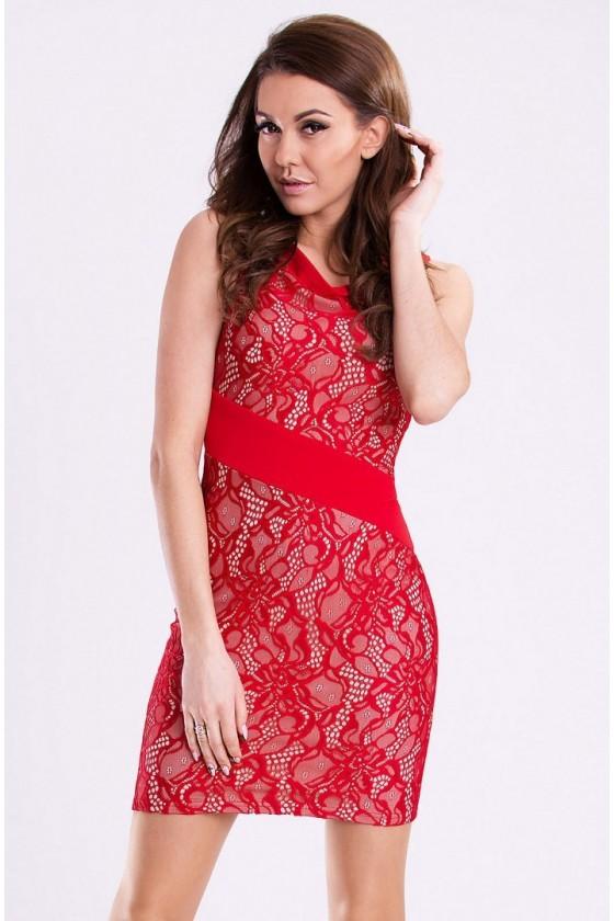 Dámske čipkované šaty 2980