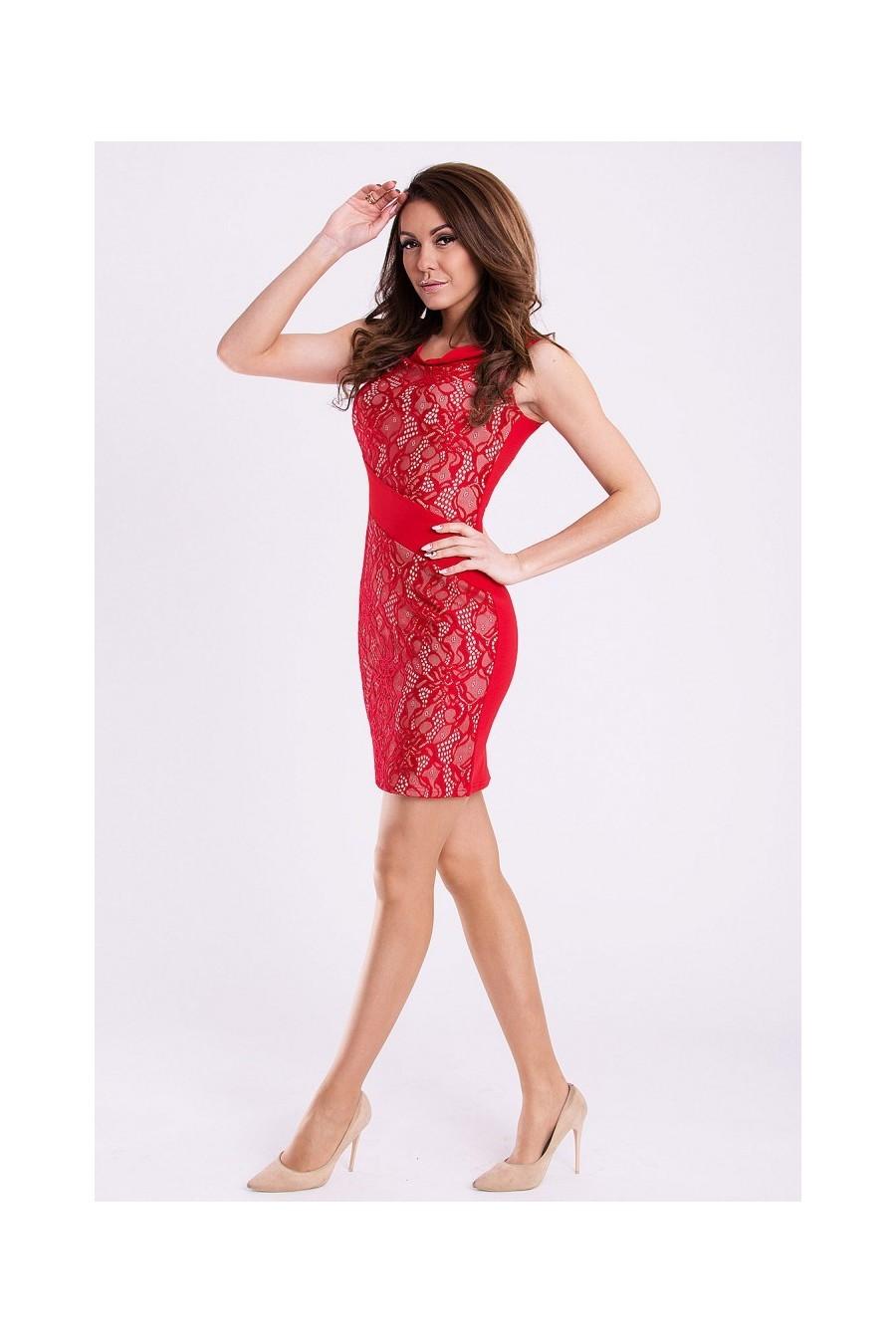 fbf049c9debb Dámske čipkované šaty 2980 - Spoločenské šaty Online