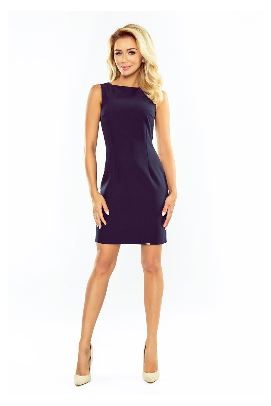 Nádherné krátke šaty 3183