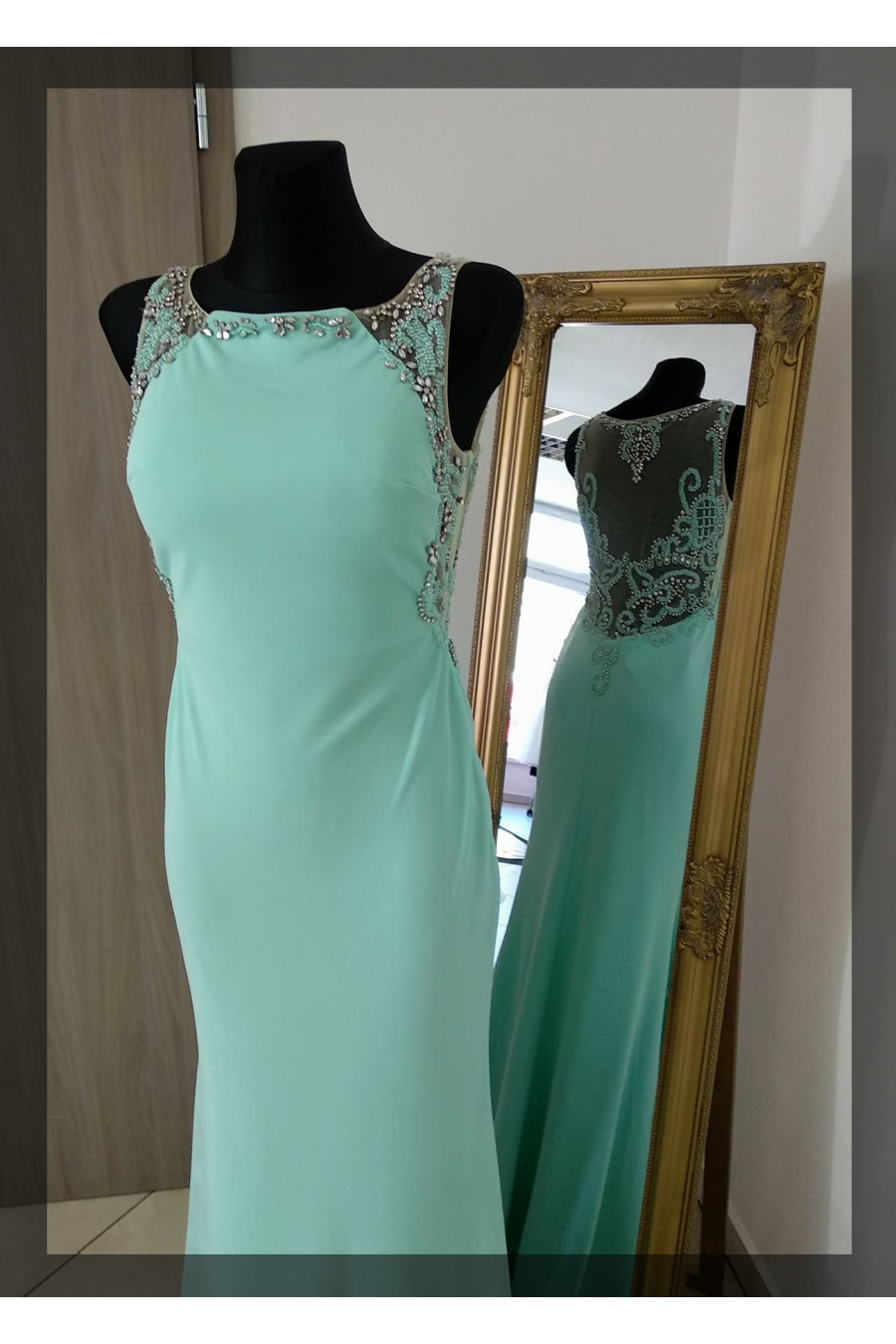 Luxusné spoločenské šaty 3054