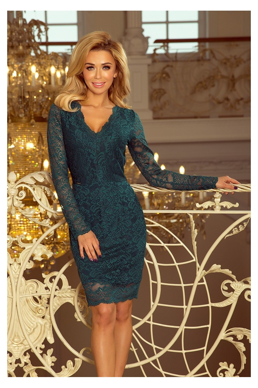 ea6518fa6ff0 Čipkované šaty 3209 - Spoločenské šaty Online