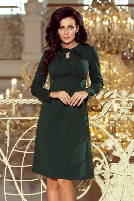 Dámske šaty s rukávom 3312