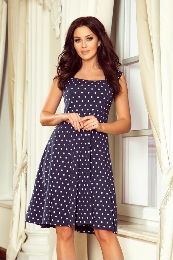Nádherné bodkované šaty 3373