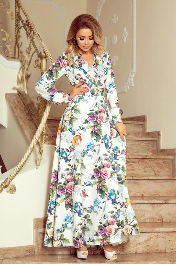 Nádherné dámske šaty 3374