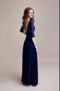 Spoločenské šaty s rukávom 3308