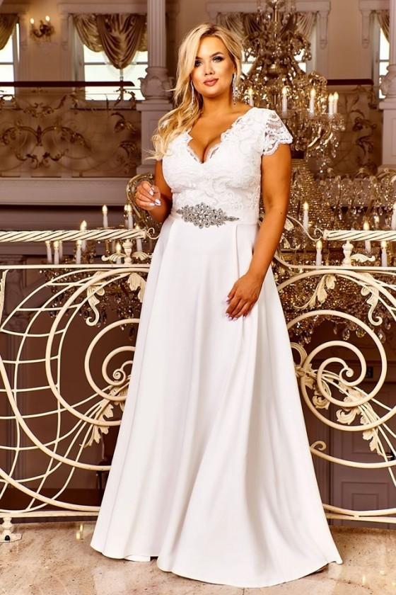 Nádherné svadobné šaty aj pre moletky 3411