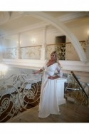 Svadobné šaty aj pre moletky 3409