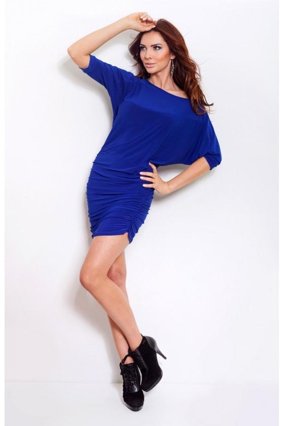 Spoločenské a koktejlové šaty - Modrá farba - Spoločenské šaty Online a9308b07ad3