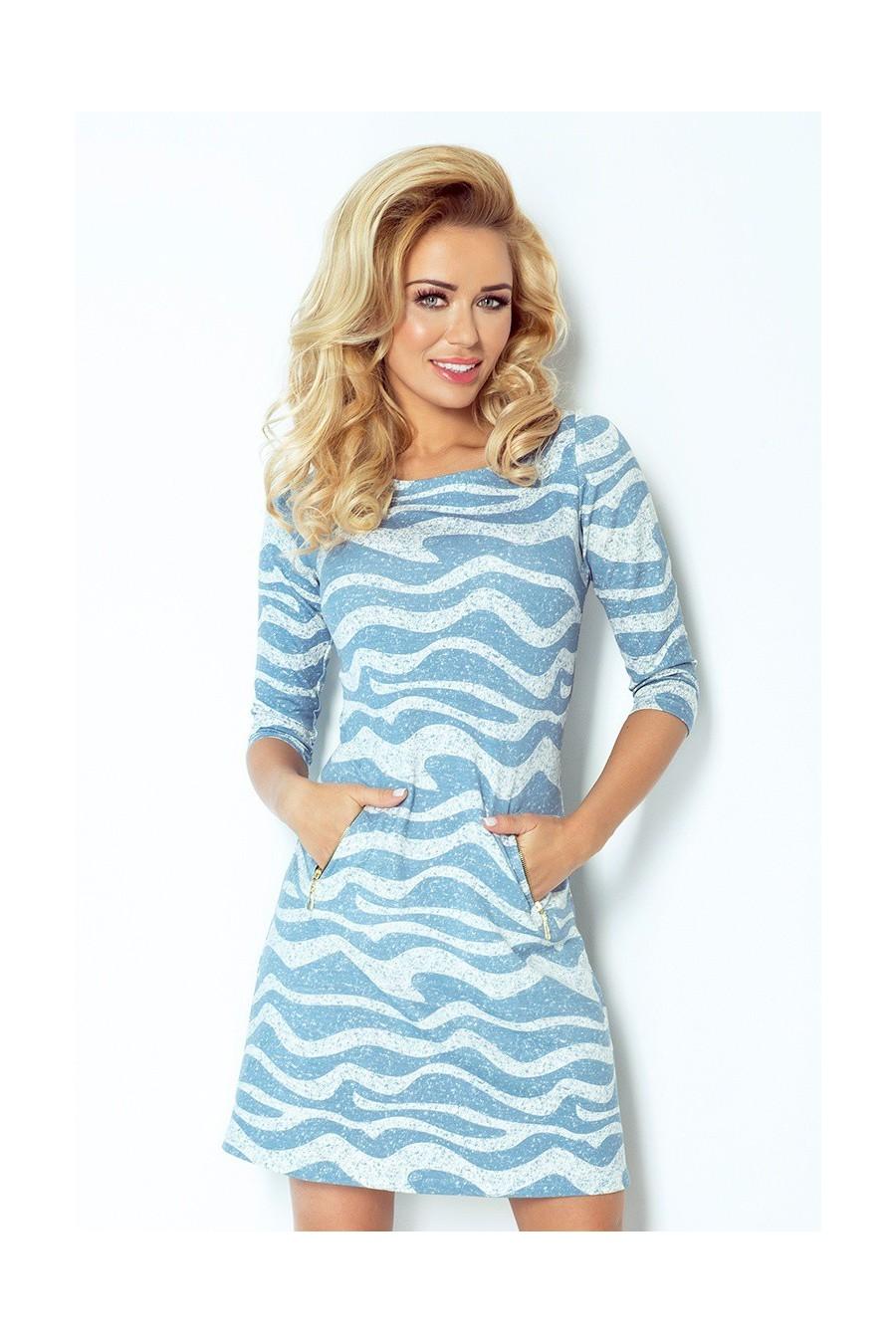 cf8bdccfcee8 Šaty s dlhým rukávom 2118 - Spoločenské šaty Online