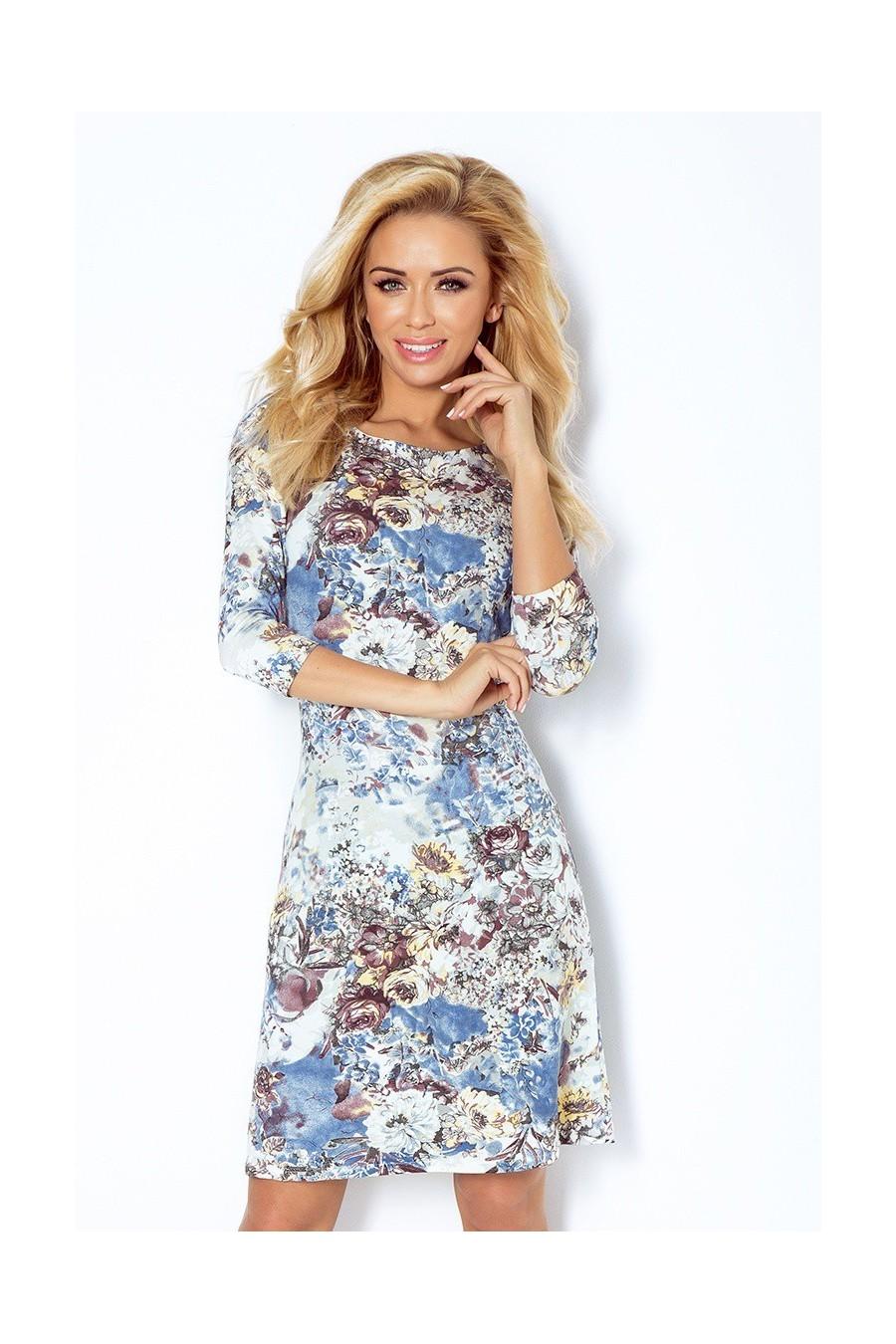 Šaty s rukávom 2215