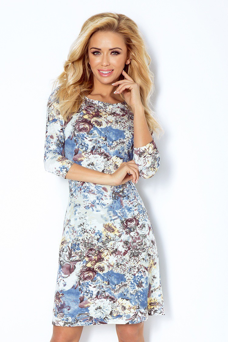 7dd3bbdb8202 Šaty s rukávom 2215 - Spoločenské šaty Online