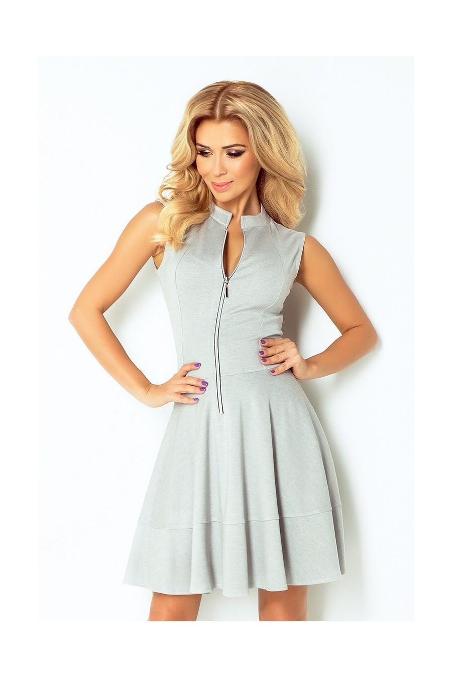 610a0bfb7f02 Dámske šaty na zips 2531 - Spoločenské šaty Online