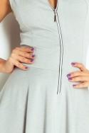 Dámske šaty na zips 2531