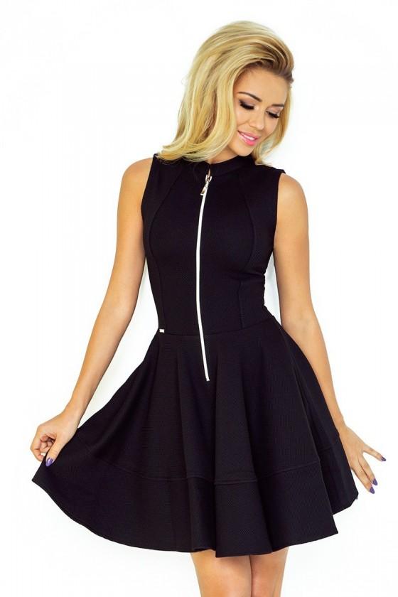 Dámske šaty na zips 2888