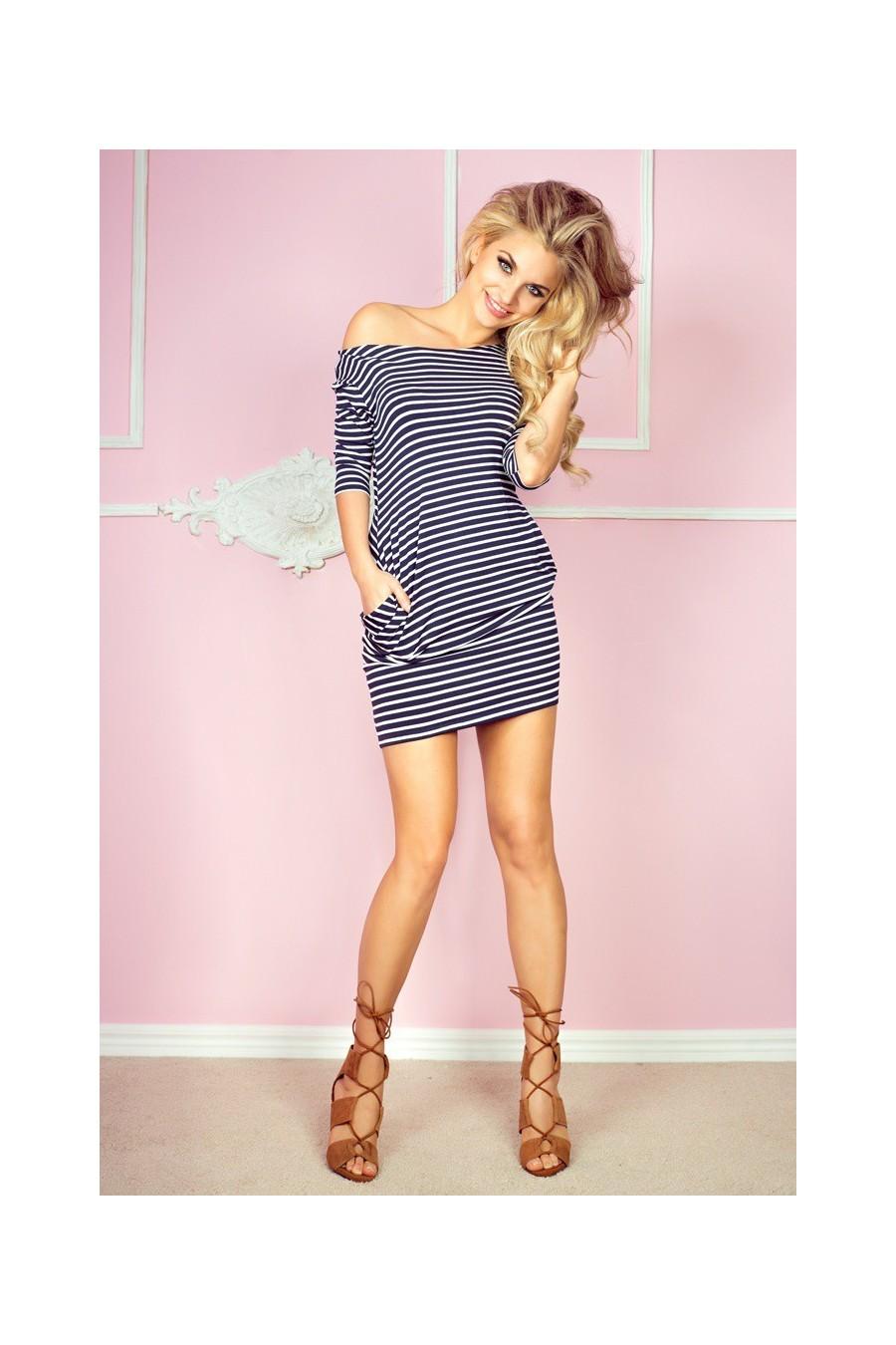 Letné pásikavé šaty 2950