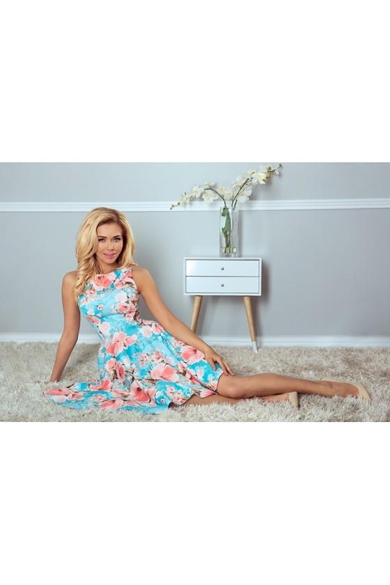 Dámske kvetinové šaty 2963