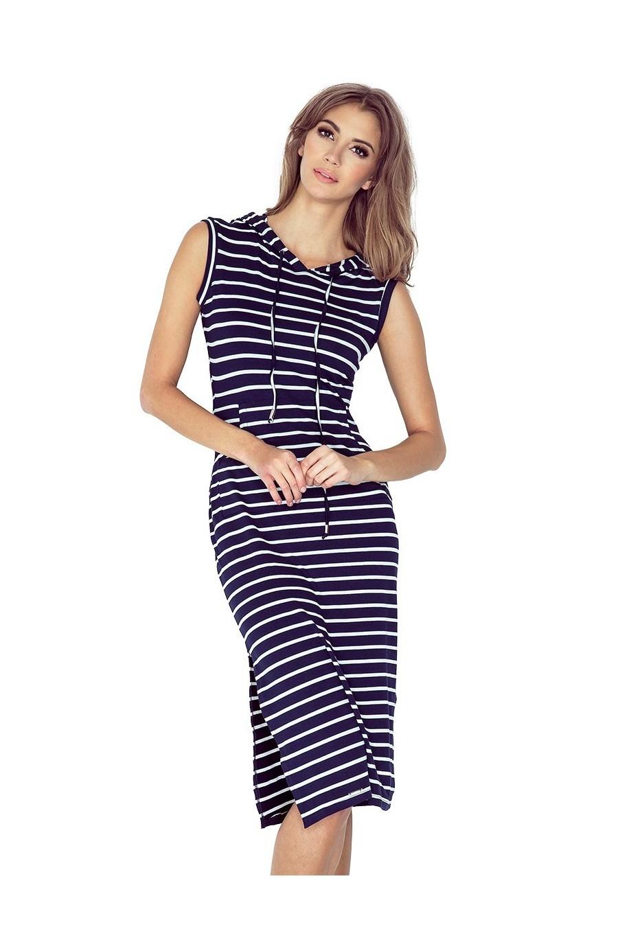 Pásikavé letné šaty 2968