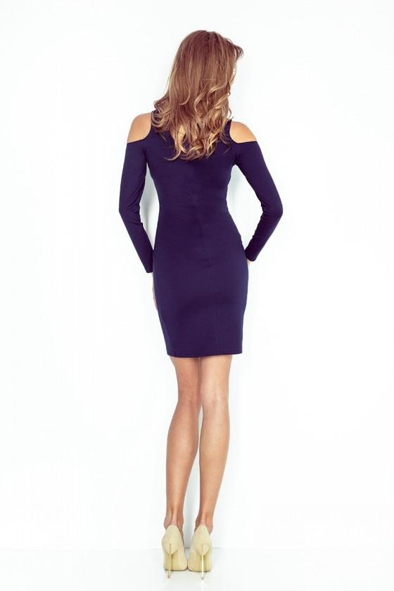 Elegantné šaty s rukávom
