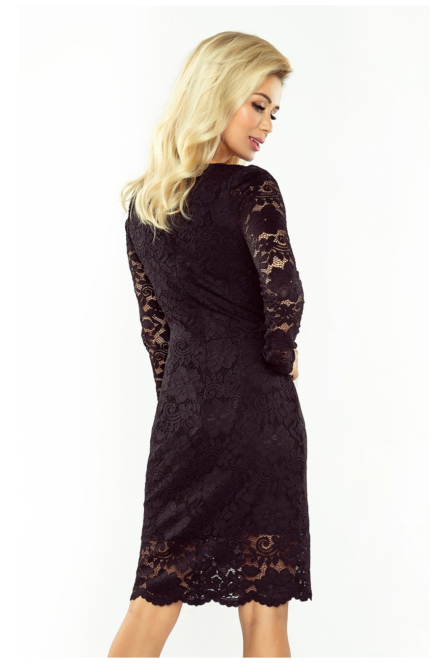 Čipkované šaty 3107