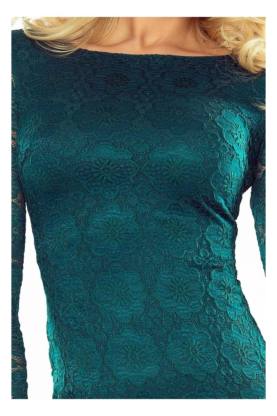 Elegantné čipkované šaty 3168