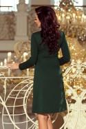 Dámske šaty s rukávom 3313