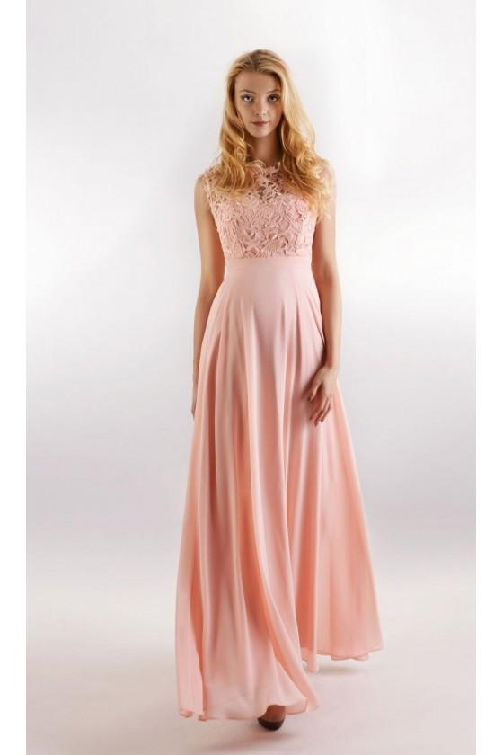 Nádherné spoločenské šaty s čipkou 3053
