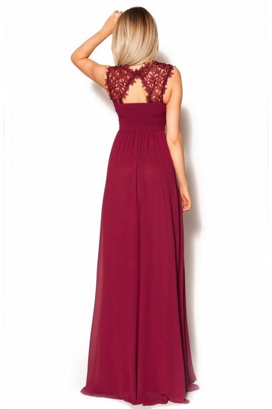 Nádherné dámske šaty s čipkou 3307