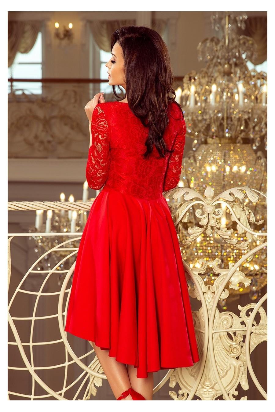 Elegantné šaty s čipkou 3369