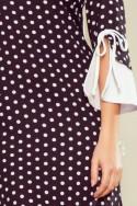 Pôvabné bodkované šaty 3380