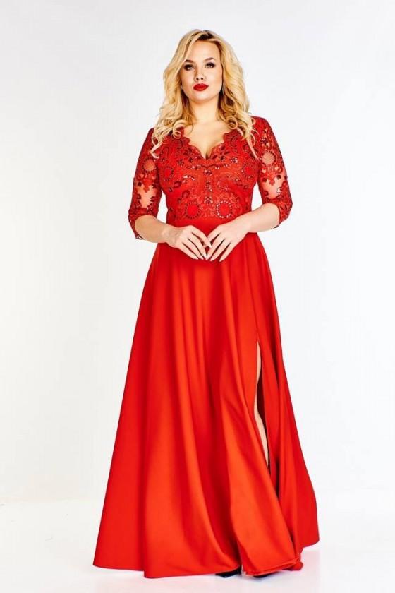 Nádherné dámske šaty aj pre moletky 3405