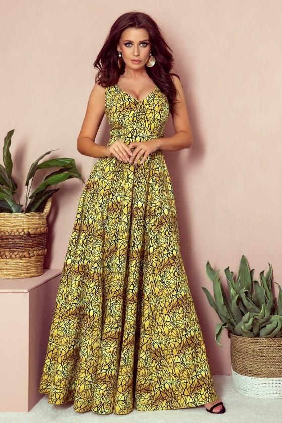 Štýlové spoločenské šaty 3420