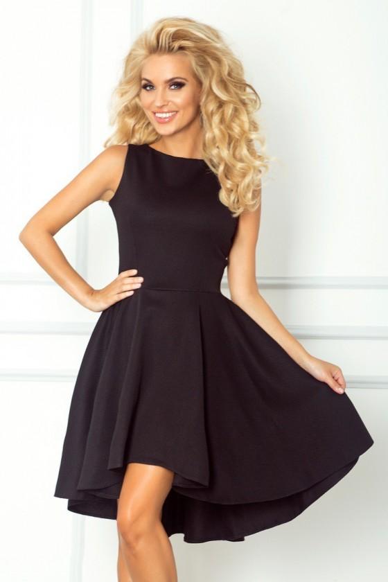 Lacosta - Exclusive asymetrické šaty - cerna 66-2