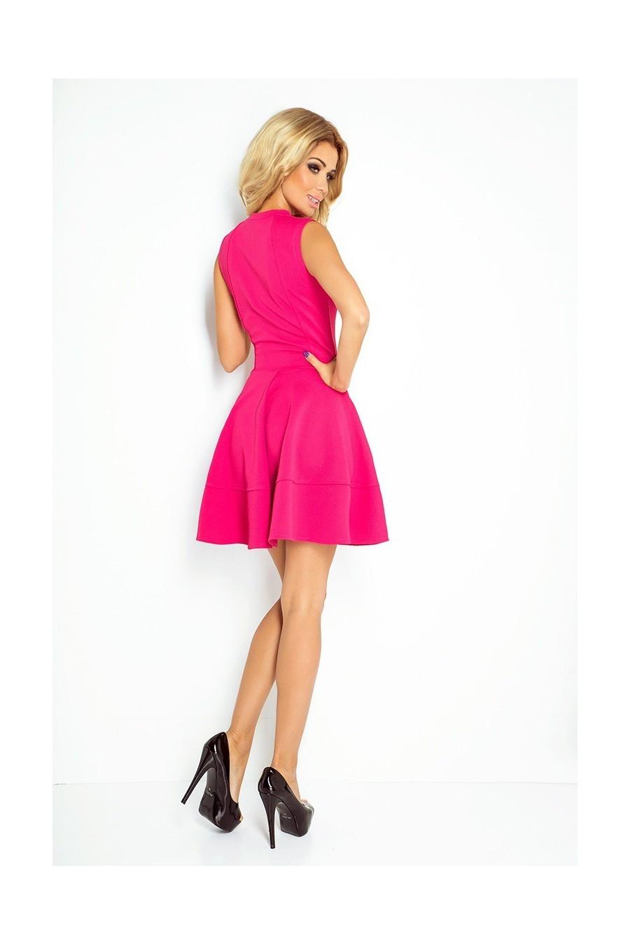 šaty - ruzove 123-8