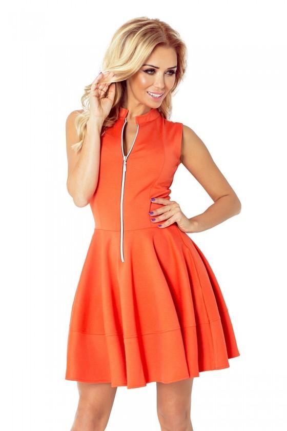 123-5 šaty - orange