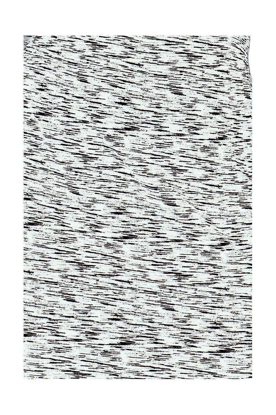 Šaty se  límcem - černý vzor 111-3