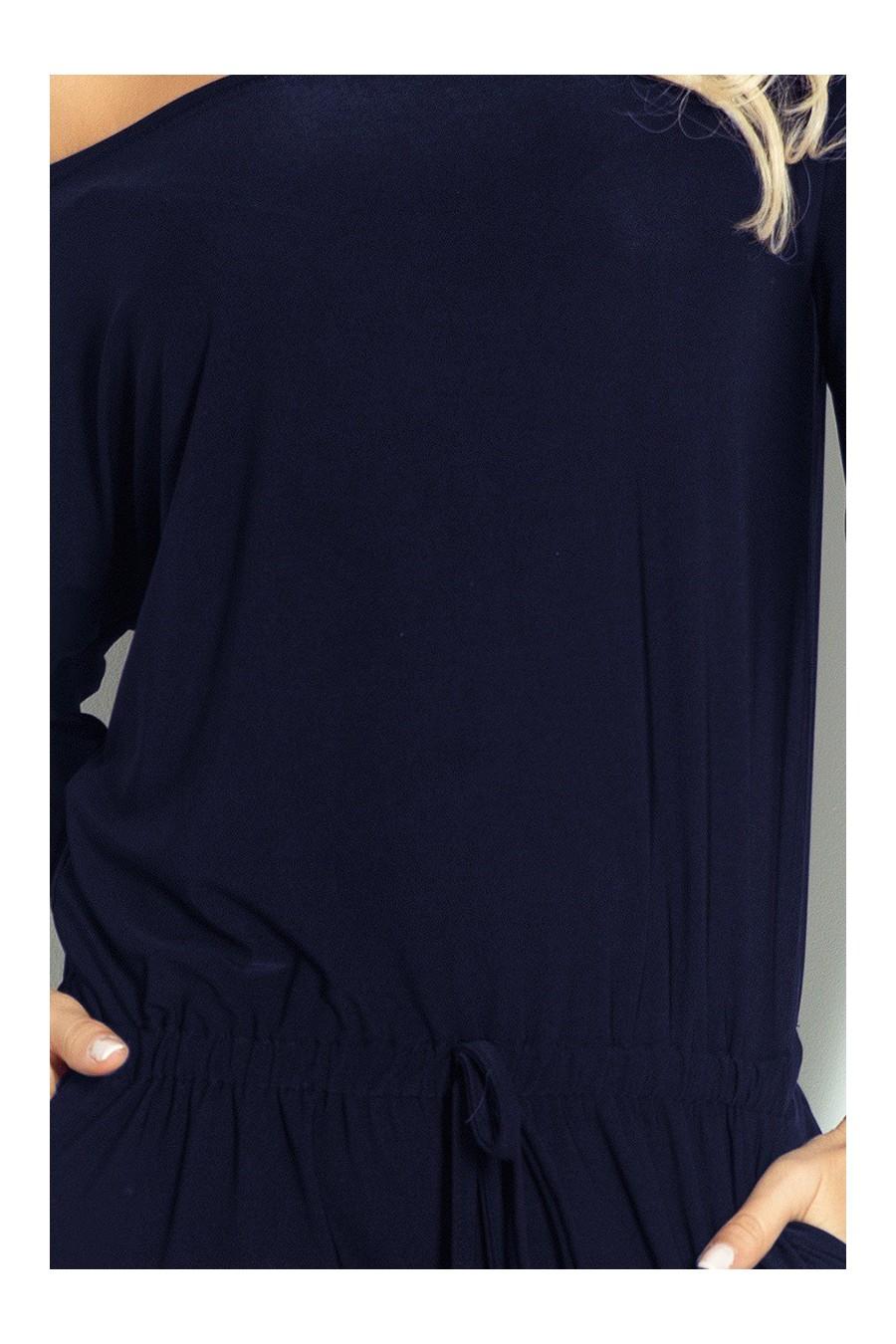Oblek sporty - ity tmave modrý 81-3