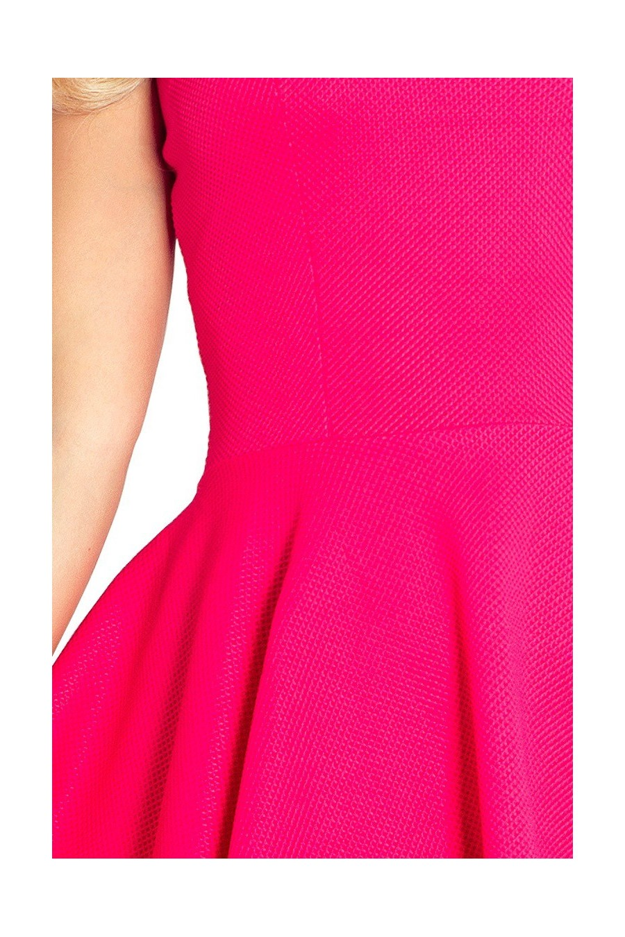 Lacosta - Exclusive asymetrické šaty - ruzova 66-3