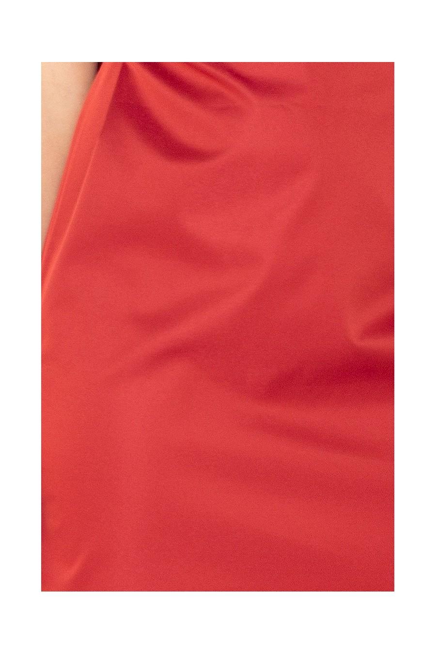 MEMORY - šaty s vázání - měď 126-4