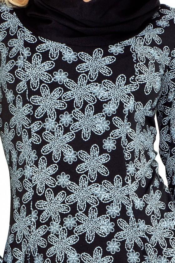 Golf - šaty s velkými kapsami - vanilka - 135-3
