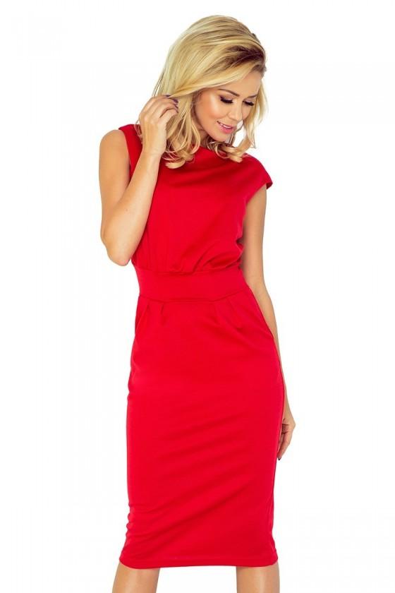 Šaty SARA - cervená 144-2