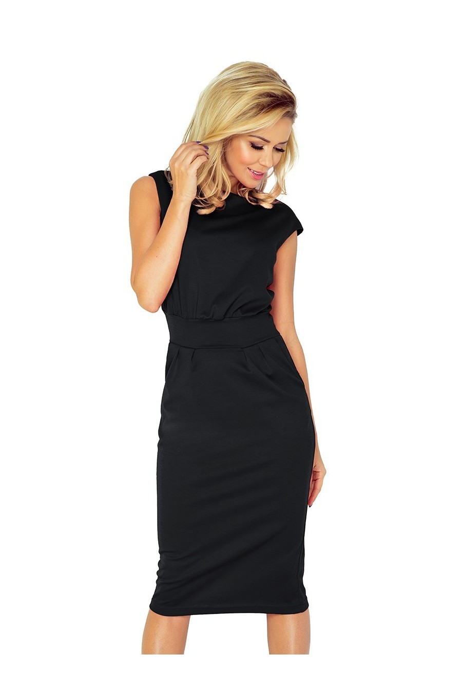 Šaty SARA - cerná 144-3
