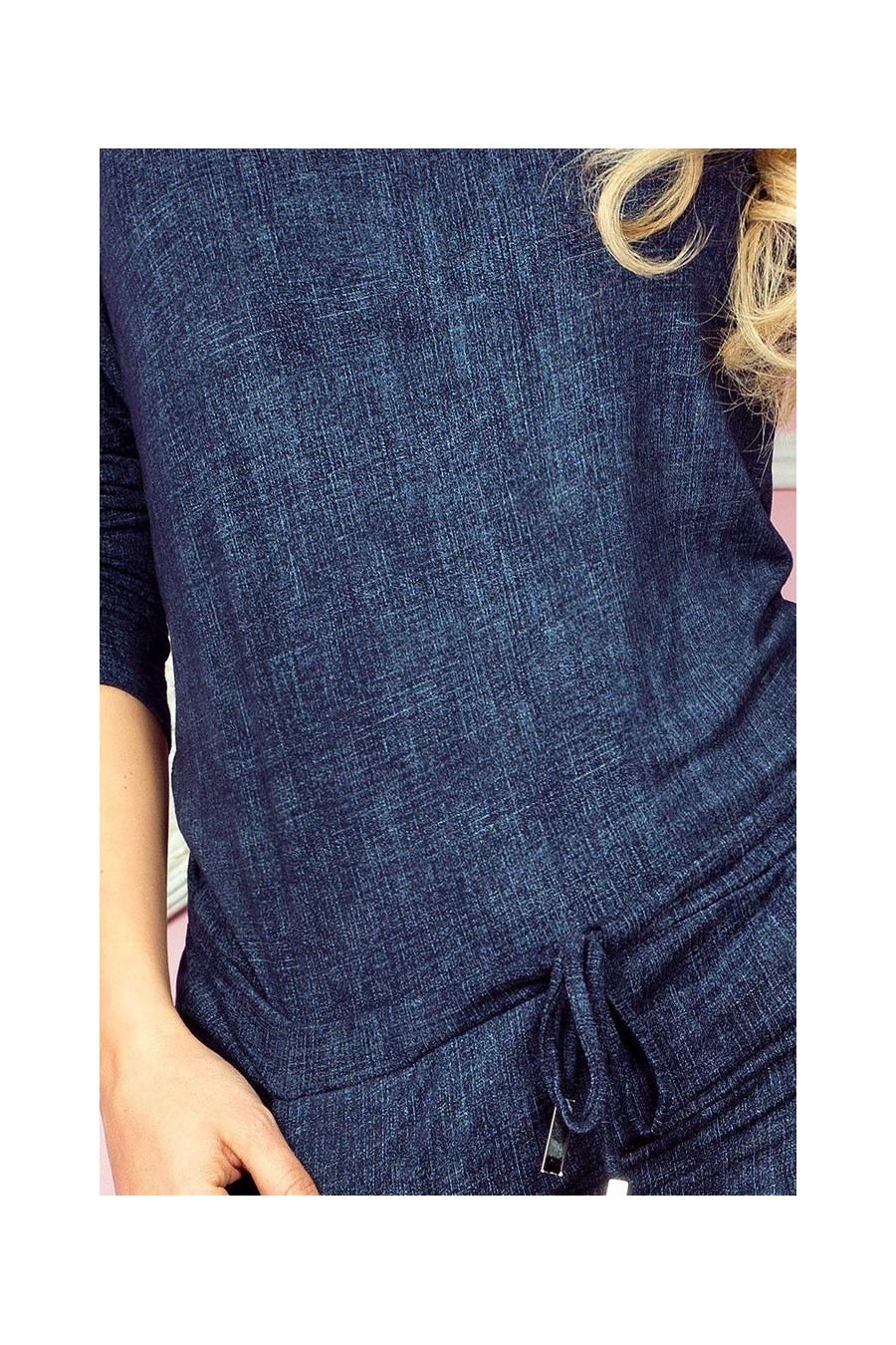 Sportovní šaty - tmave modre jeans 13-19