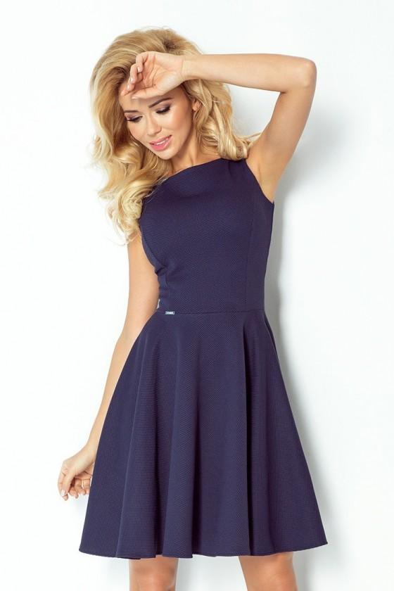 šaty - tmave modre 98-1