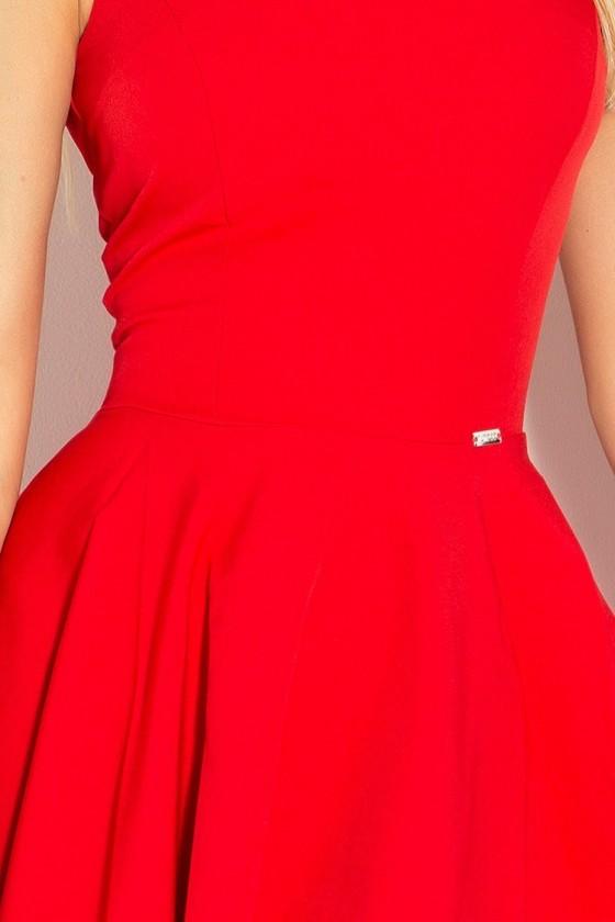 Dress circle - heart-shaped neckline - cervene 114-3