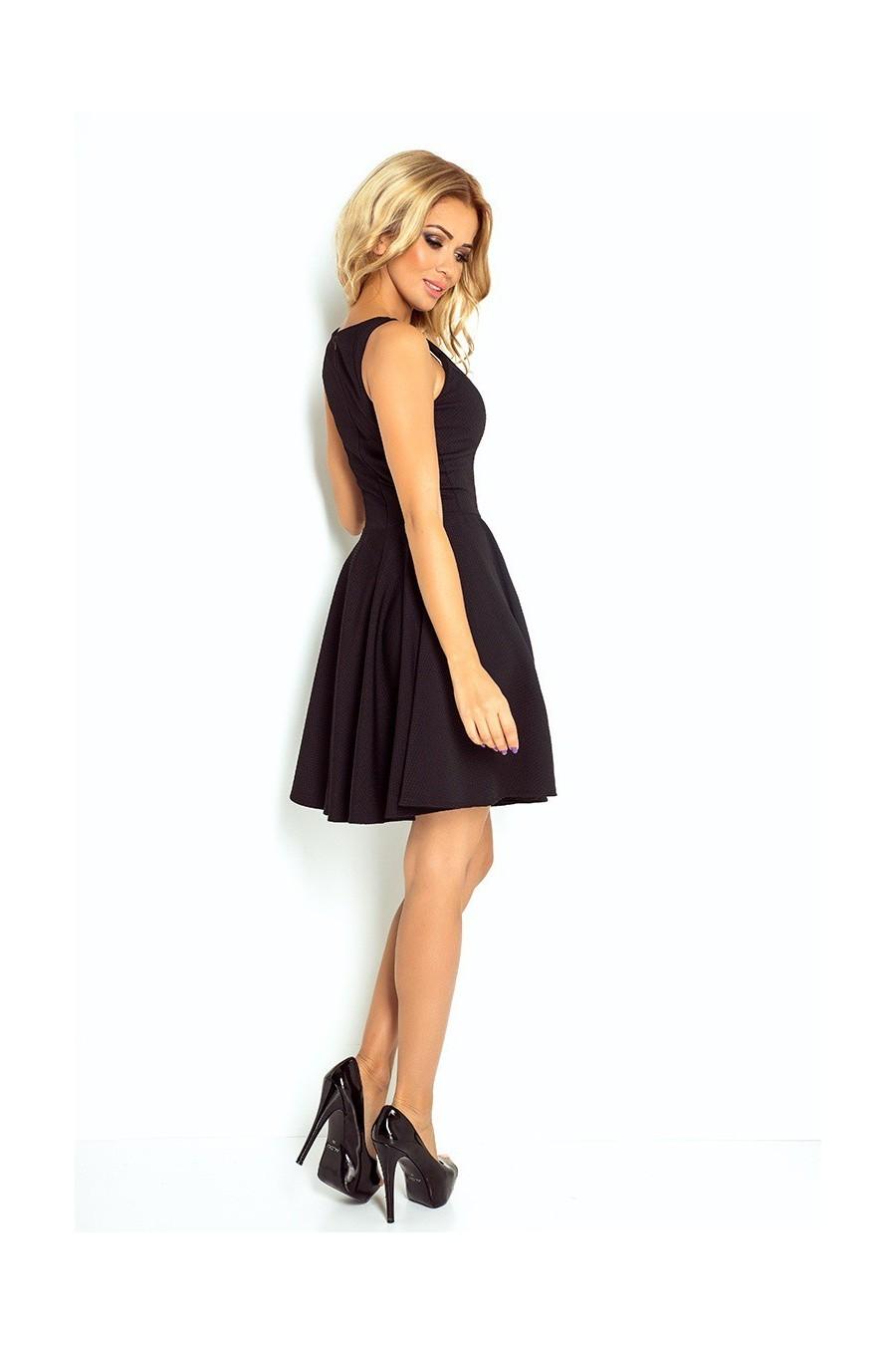 šaty - cerne 125-5