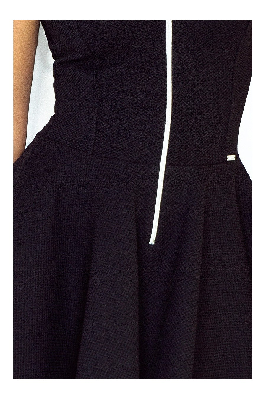 šaty - cerne 123-10