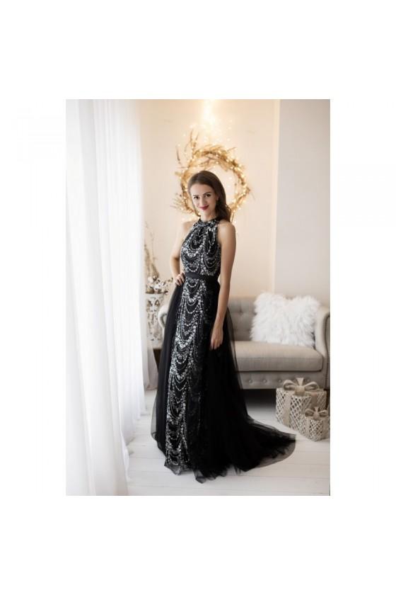 Luxusné spoločenské šaty 4171